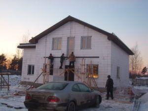дом возведение