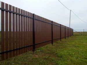 забор территория