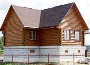 Цокольный этаж в деревянном доме