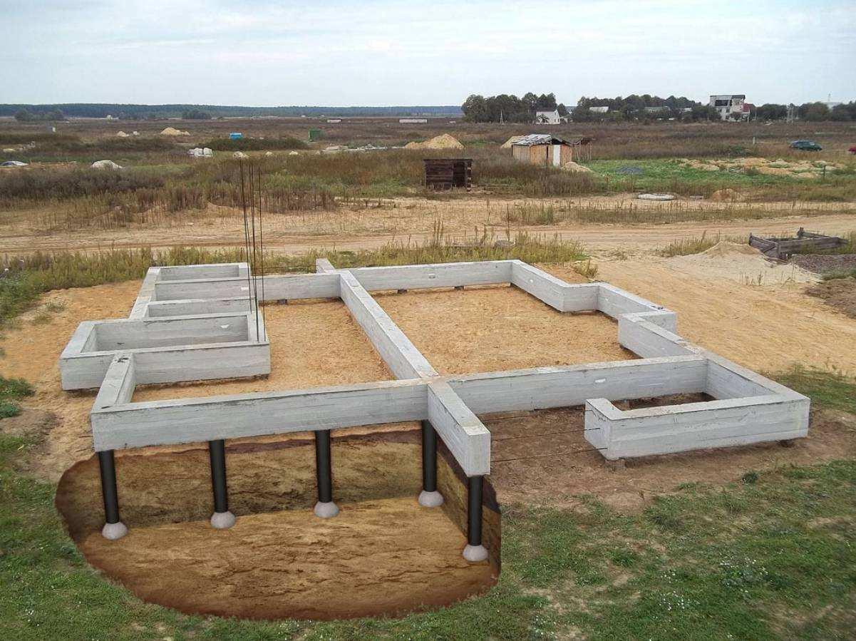 Фундамент ТИСЭ под строительство дома