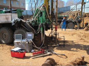 геологические изыскания на строительной площадке