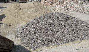 щебень песок