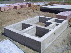 цемент на фундамент