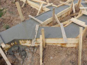 бетон сохнет