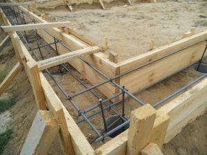 Армирование свайно-ростверкового бетонного фундамента