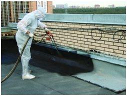 Нанесение жидкой резины с помощью распылителя