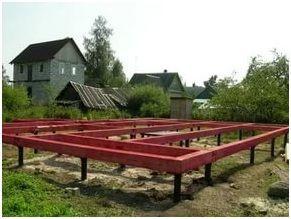 Прочность и устойчивость конструкции свайно-винтового фундамента придаст ростверк.
