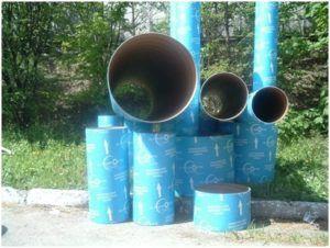 Картонные трубы для опалубки разного диаметра