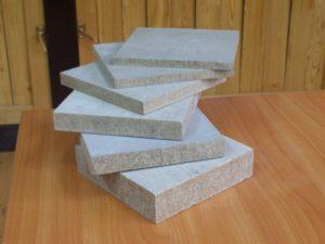 Отличия в толщине цементно-стружечных плит