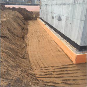 Пазуха строительного котлована