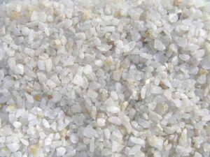 Кварцевый песок, полученный дроблением