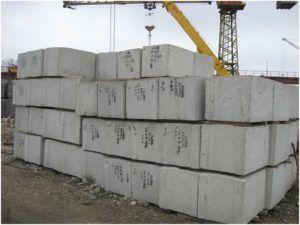 Применяемые блоки для строительства