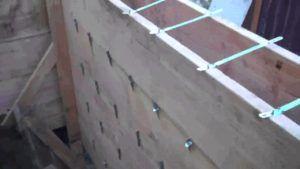 Переставная стеновая опалубка
