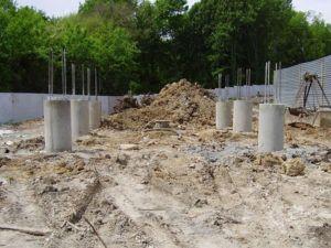сваи бетон