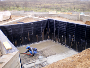 Работы по гидроизоляции подвала