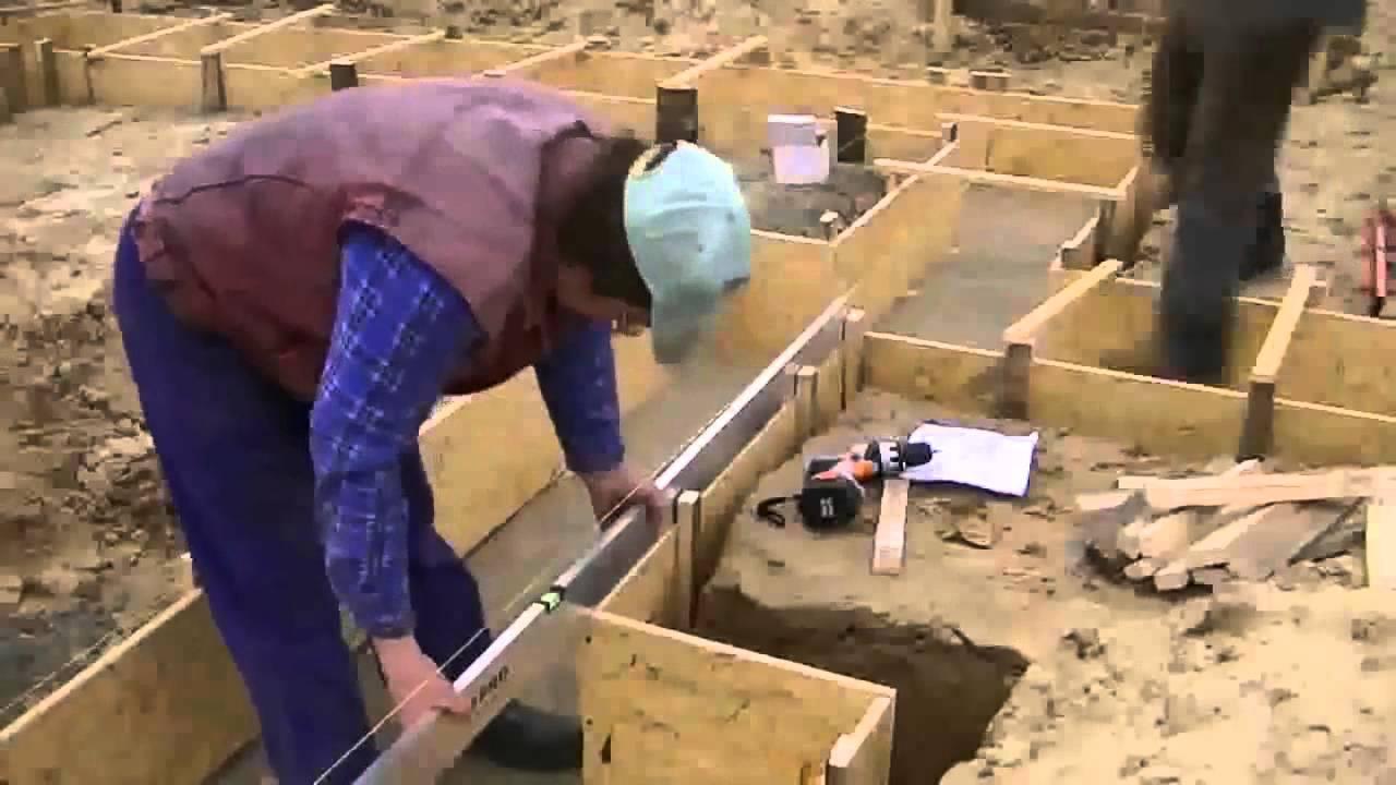 Опалубка для фундамента как делать съемную мелкощитовую и несъемную конструкции как и из чего сделать своими руками