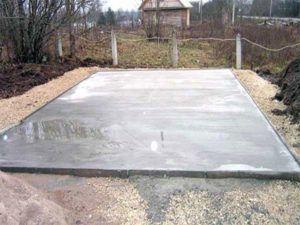 Плитный фундамент под дом из кирпича