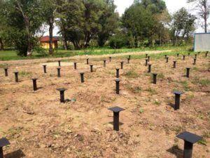 сваи в почве