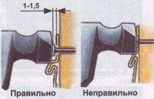 Монтаж панелей ведут слева направо.