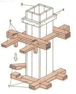 Самодельная деревянная форма