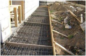 Строительство отмостки для дома