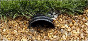 Водоотведение грунтовой воды с участка