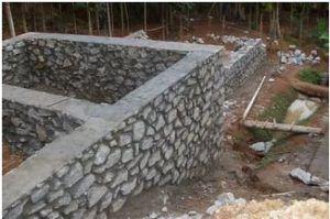 Чаще всего, сооружая основание для дома, используют бутовый камень или булыжник.