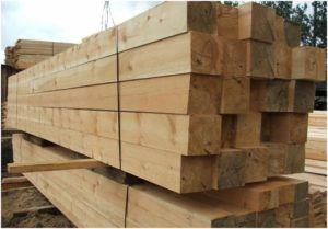 Брус из лиственницы – лучший материал устройства надежного и прочного деревянного фундамента