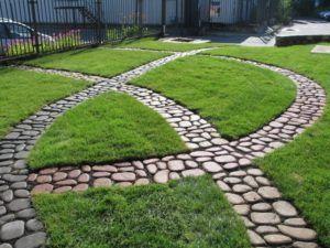 Декоративные садовые тропинки