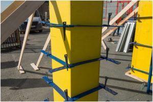 Металлическая опалубка для столбов