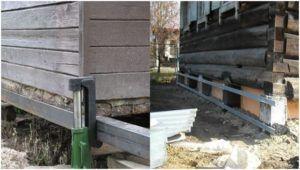 Подготовительные процессы к подливке бетонного раствора.