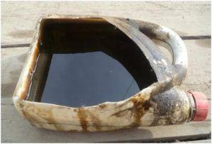 Машинное масло-отработка