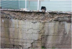 Разрушающийся бетон