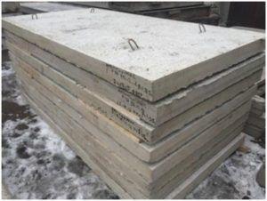 Полнотелые плиты перекрытия для фундамента