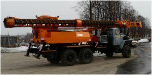 Бурильно-сваебойная установка БМ-811