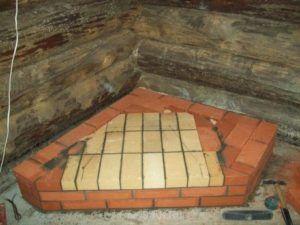 Фундамент в деревянном доме