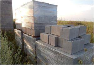 Шлакоблоки стали все чаще использоваться для постройки зданий.